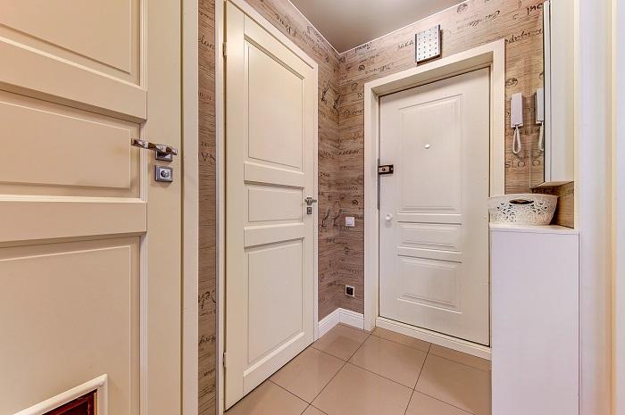 Двери в однокомнатной квартире