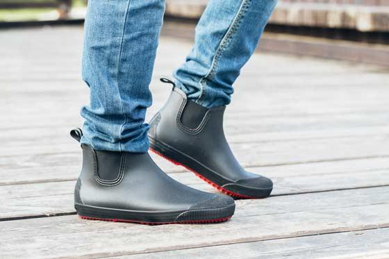 Мужские резиновые ботинки Nordman Beat с красной подошвой
