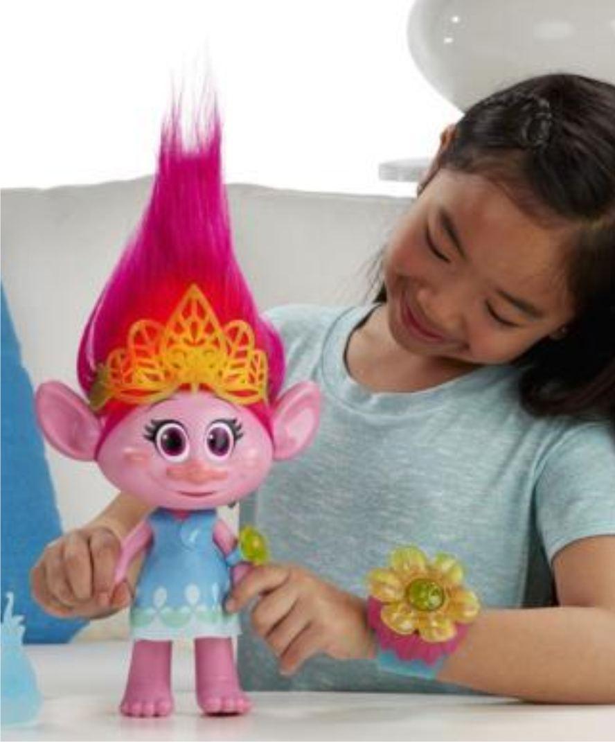 Игрушка Розочка (Poppy) из мультфильма Тролли