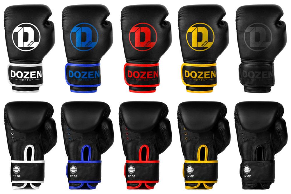 Расцветка боксерских перчаток Dozen Monochrome