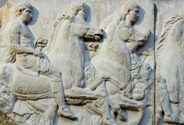 фрагмент фриза Перфенона - Британский музей