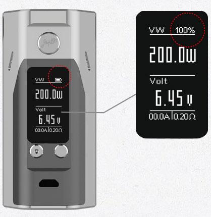 Совершенно Новый Интерфейс WISMEC Reuleax RX200S с 0.96-дюймовым Большим Экраном
