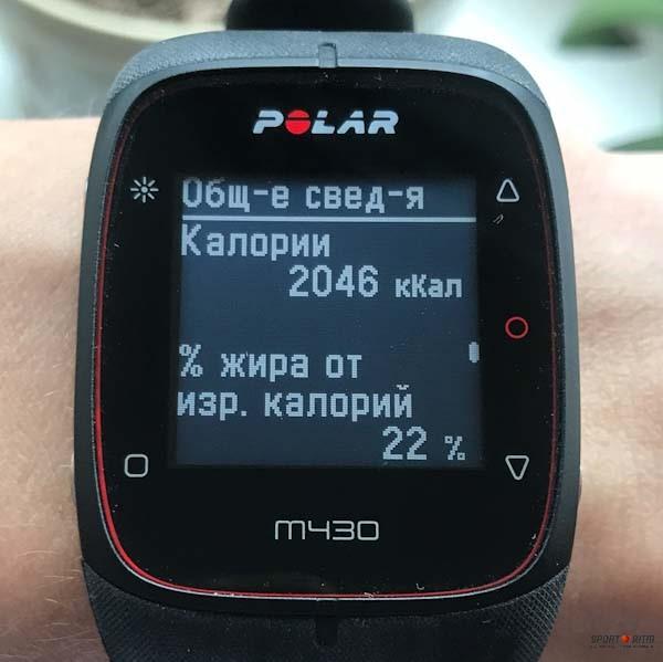 Часы Polar M430