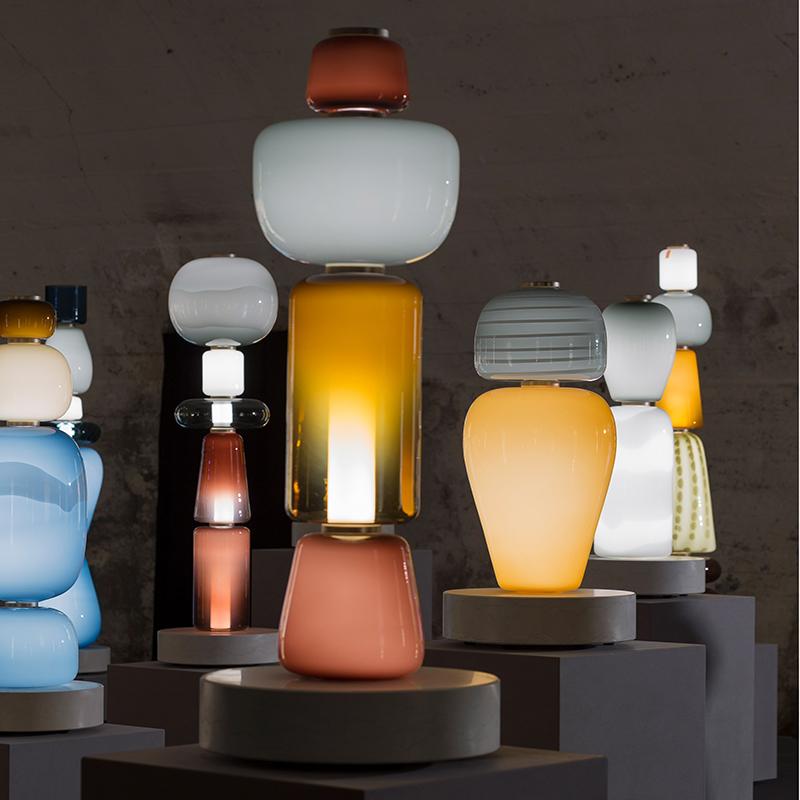 Светильники Totems от Luca Nichetto