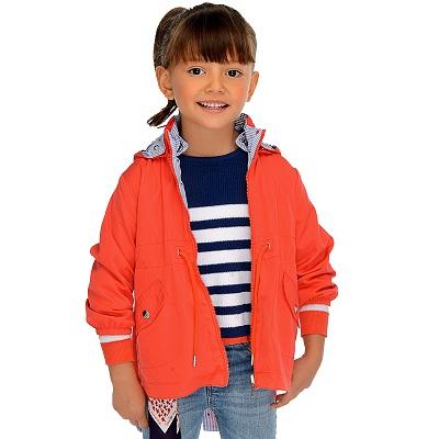 Одежда Mayoral Весна-Лето 2019, куртка красная для девочек
