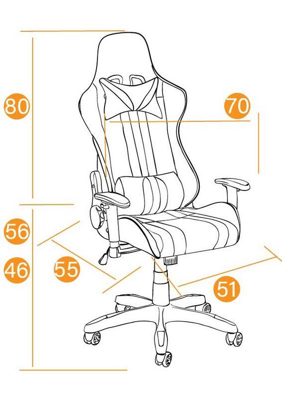 Размеры Кресла iCar