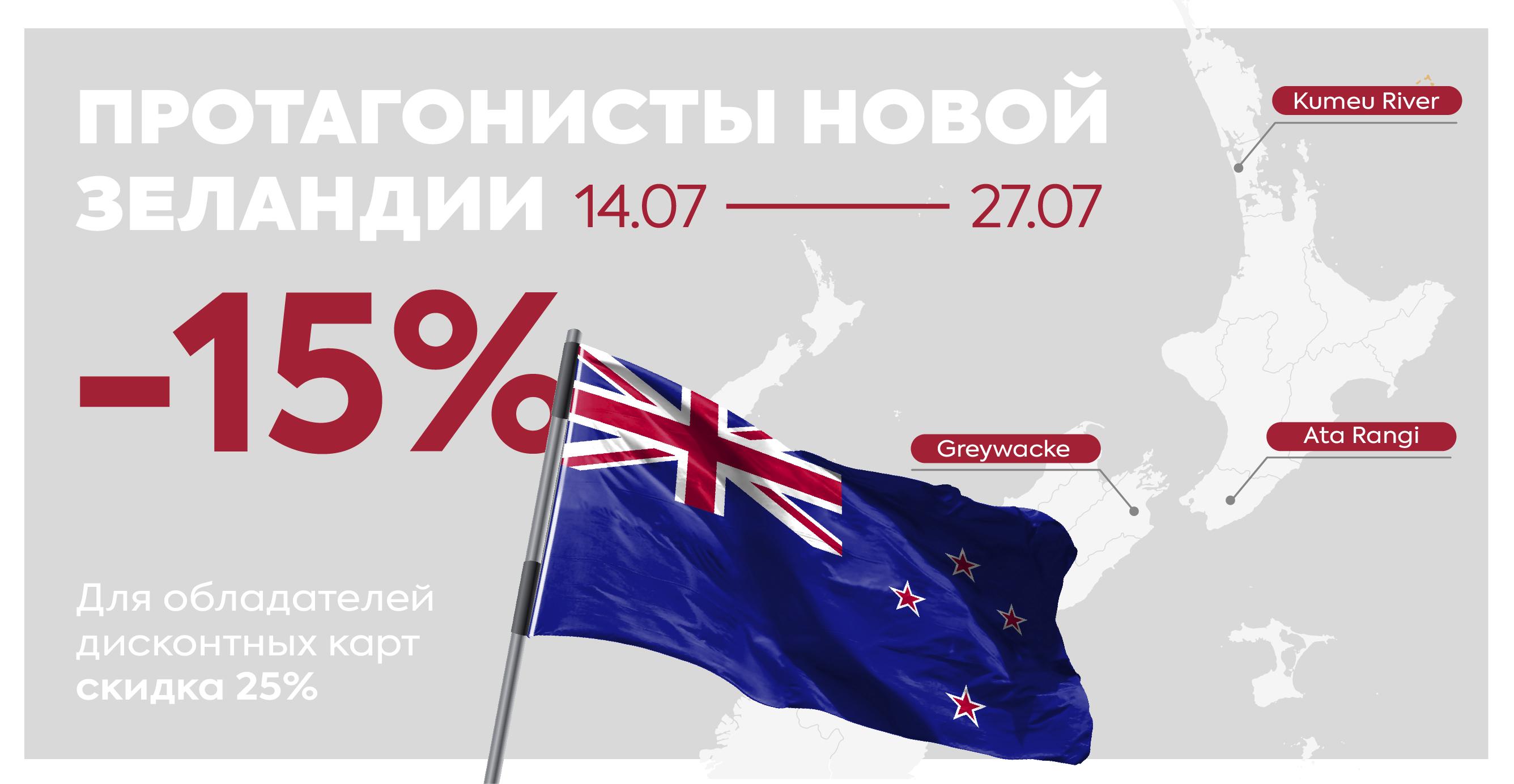 Акция Протагонисты Новой Зеландии