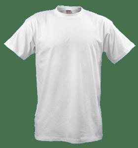 Образец футболки на которых печатаются изображения