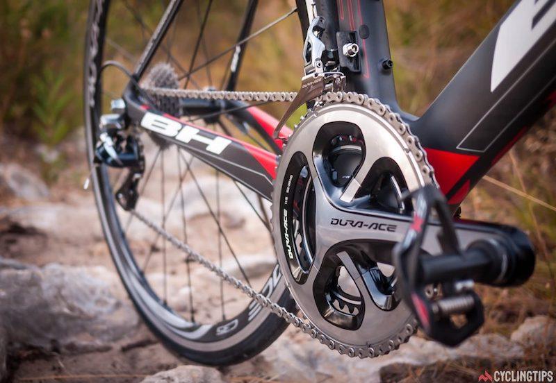 Выбор трансмиссии для шоссейного велосипеда