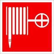 Пожарные знаки безопасности F02 Пожарный кран