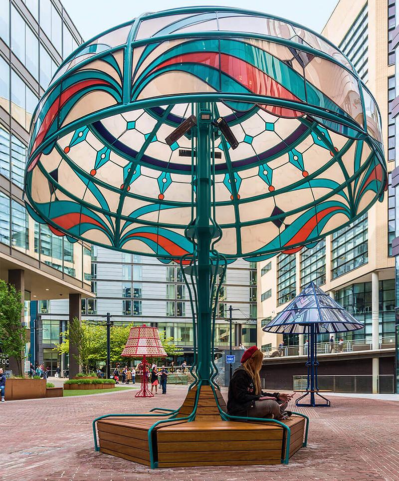 Светильник Manchester Lamps от Acrylicize