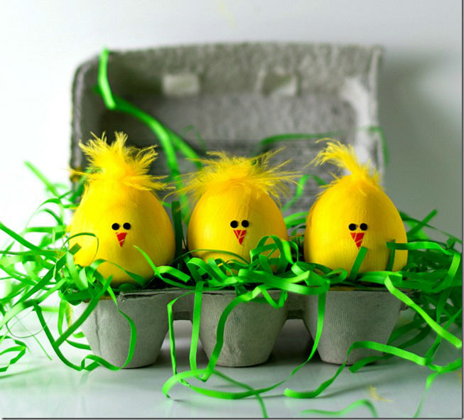 чем покрасить яйца на пасху в домашних