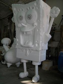 "Скульптура ""Спанч-Боб""."