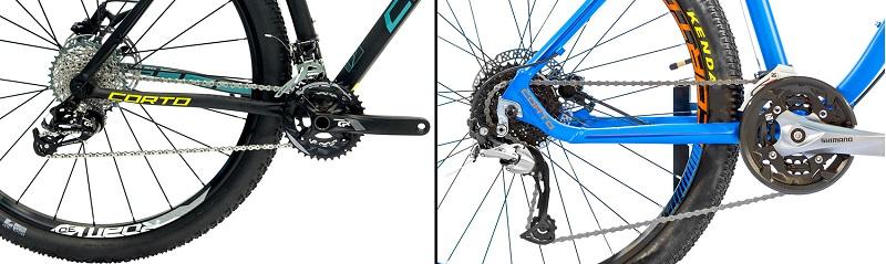 Трансмиссия велосипеда