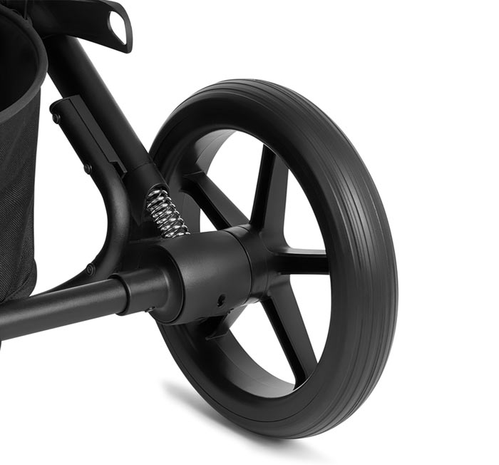 Большие колеса-вездеходы с мягкой подвеской