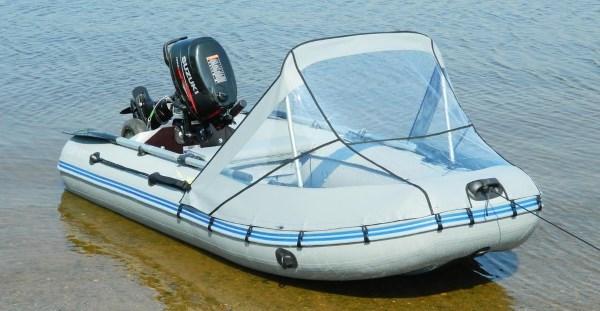 Носовой тент на лодку