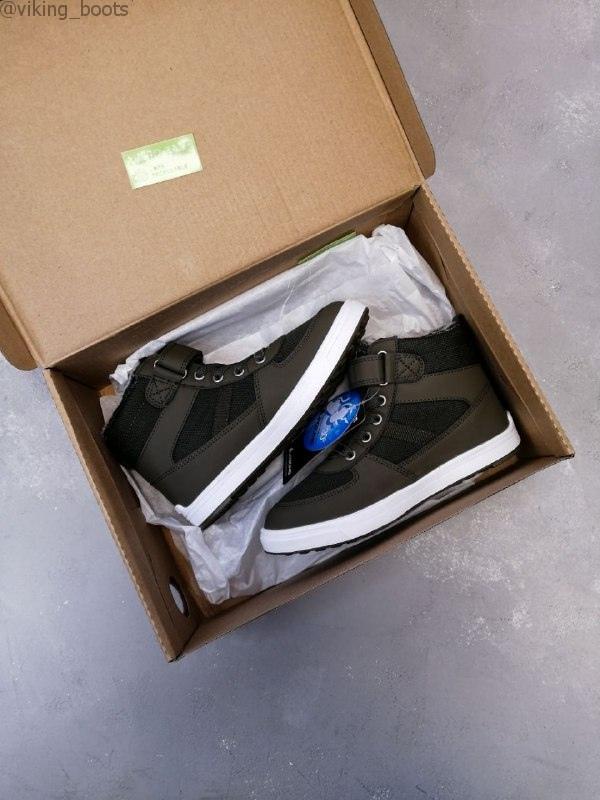Ботинки Viking Lukas WP Khaki/Hunting green