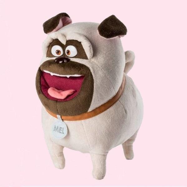 Интерактивная мягкая игрушка - мопс Мэл (говорящий)
