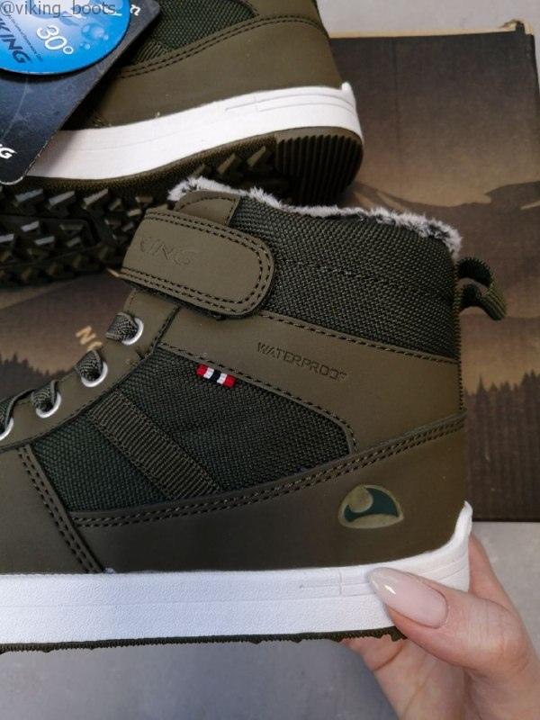Зимние ботинки Viking Lukas WP Khaki/Hunting green