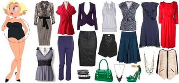 Одежда для типа фигуры «круг»