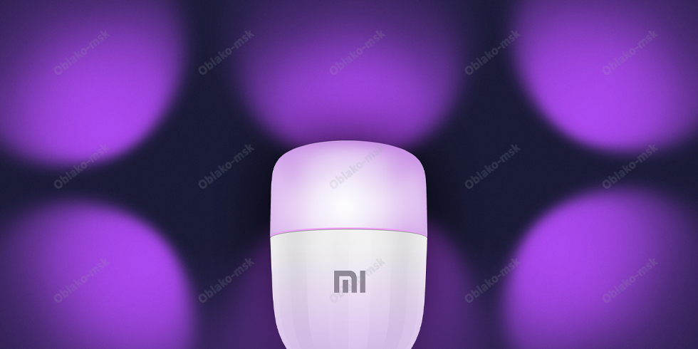 Умная светодиодная лампочка Xiaomi Mi LED Smart Bulb Essential White and Color RU EAC