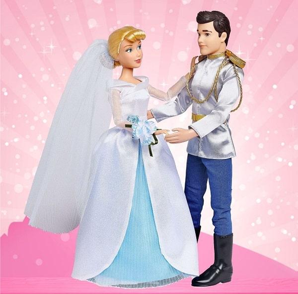 Набор кукол от Disney - Золушка и Принц