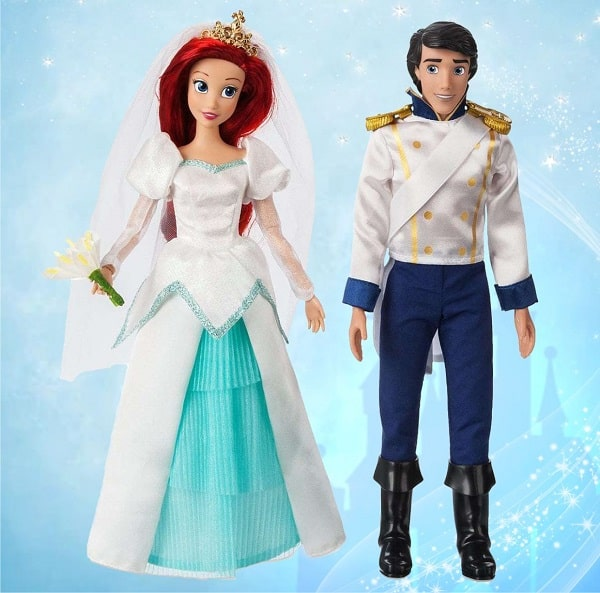 Принцесса Ариэль и Эрик - игровой набор кукол Disney
