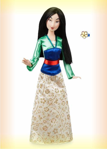 Кукла Мулан с кольцом- серия Принцессы Диснея