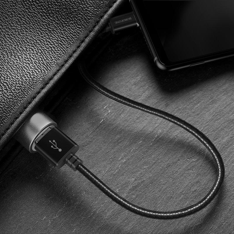 borofone bu1 magjet type c usb charging data cable interior