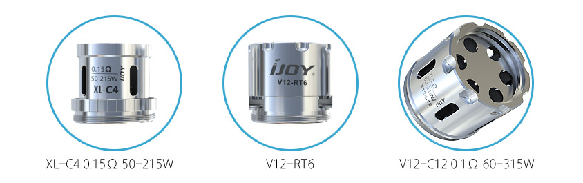 Испарители для Атомайзера iJOY MAXO V12