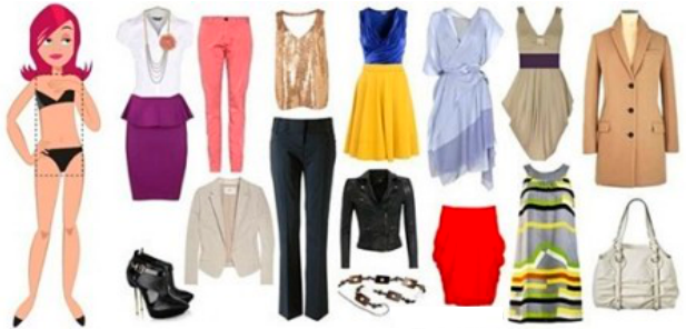 Одежда для типа фигуры «прямоугольник»