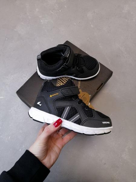 Ботинки Viking Alvdal Mid R GTX Black/Charcoal демисезонные