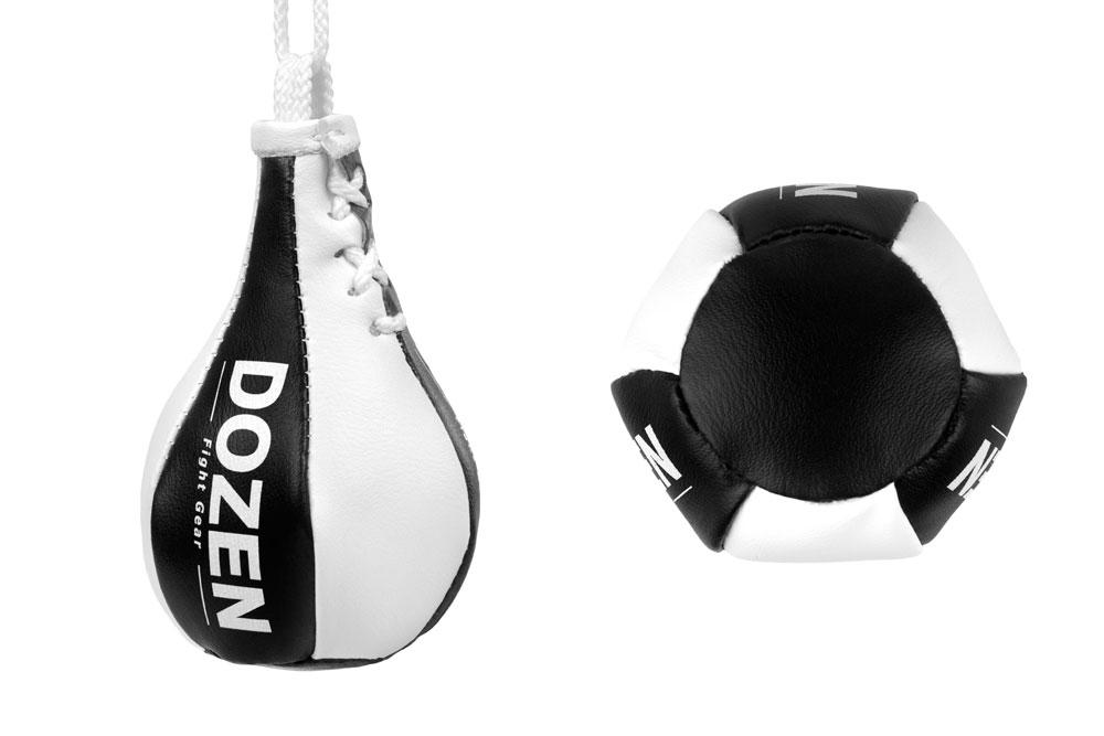 Брелок мини-груша Dozen Light Mini Speed Bag Черный конструкция