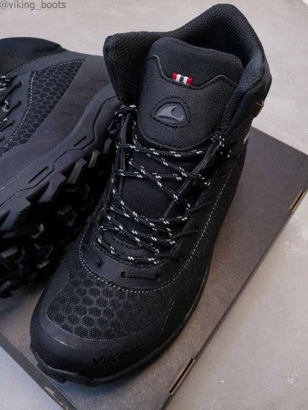 Ботинки Viking Rask Warm GTX M купить в черном цвете (сезон 2020-2021) можно для мужчин и подростков с доставкой по России.