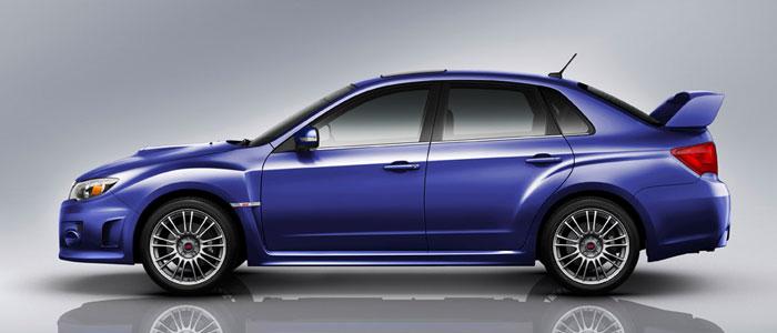 модель Subaru Impreza WRX STI 2014 получила новый уникальный кузов