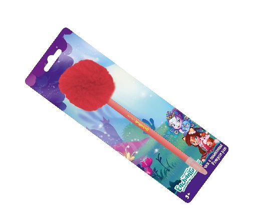 Ручка шариковая от Enchantimals с помпоном