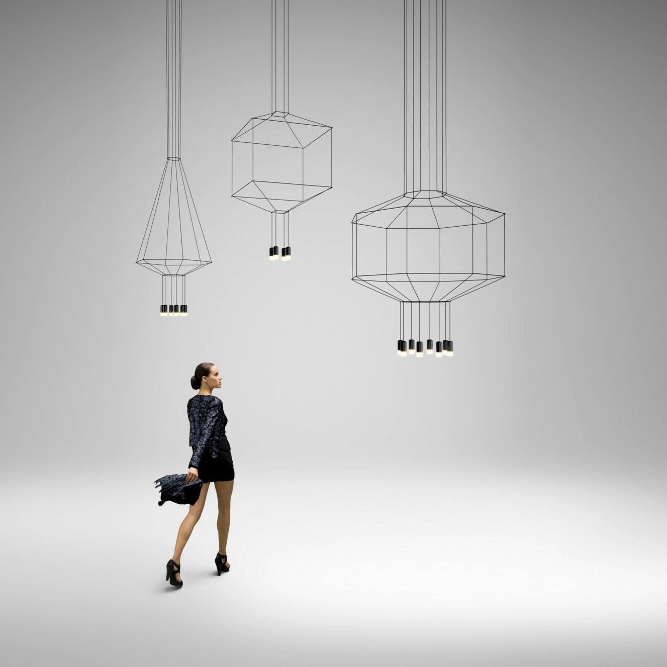Серия подвесных светильников Vibia WIREFLOW