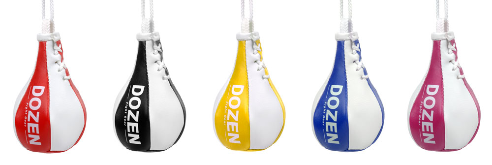 Брелок мини-груша Dozen Light Mini Speed Bag ассортимент