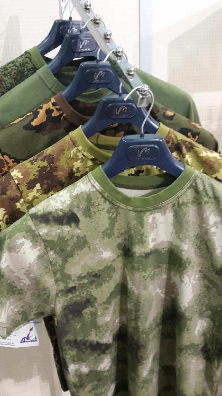 Камуфлированные футболки