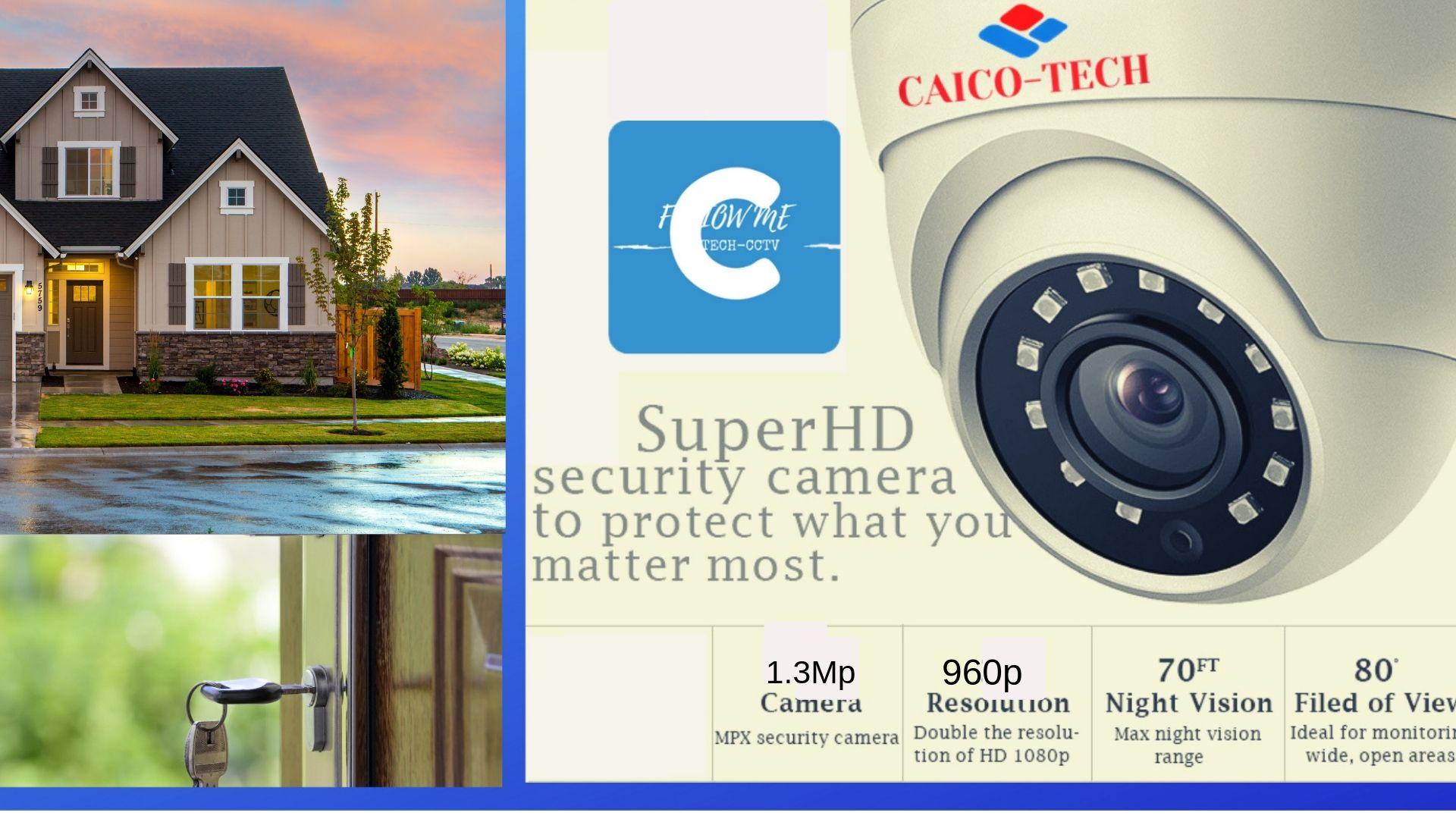 видеокамера для помещения CAICO 1280x960p