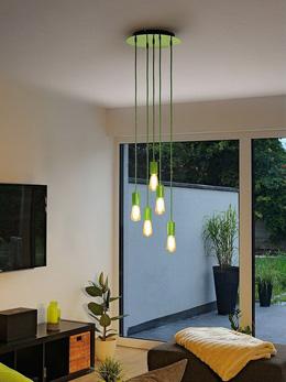 Линия Fitu похожа на другую новую коллекцию, но состоит из подвесов пяти разных цветов и трёх видов розеток, отличающихся количеством выходов. Цветовую палитру и количество ламп вы выбираете сами на свое усмотрение. При этом вместе со светильником серии Fitu вы можете заказать LED-лампочки, выполненные в ретро-стиле.