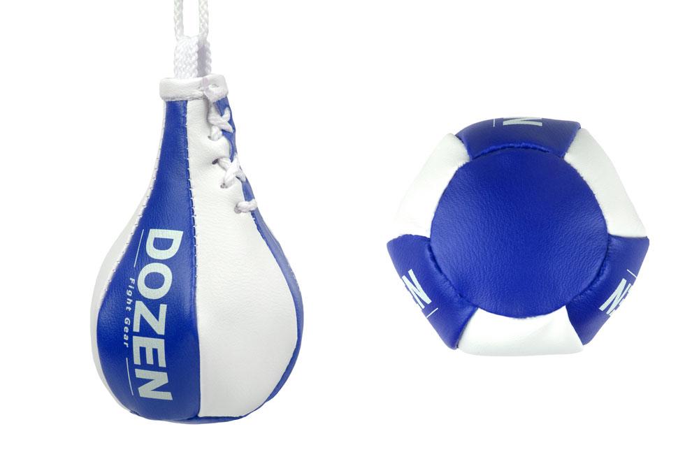 Брелок мини-груша Dozen Light Mini Speed Bag синий конструкция