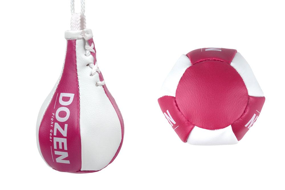 Брелок мини-груша Dozen Light Mini Speed Bag Розовый конструкция