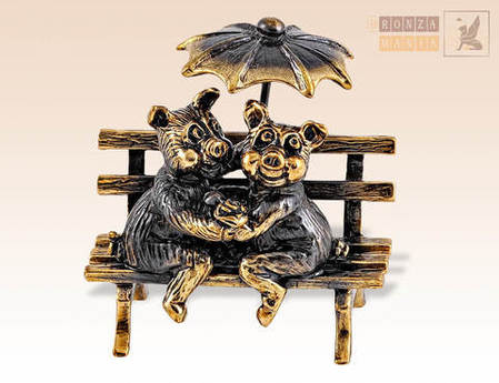 фигурка Свинки под зонтиком