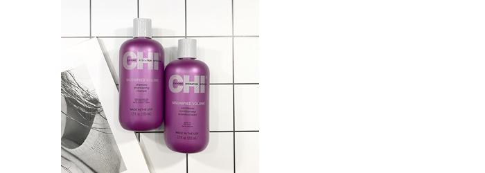 Уход Chi за тонкими волосами