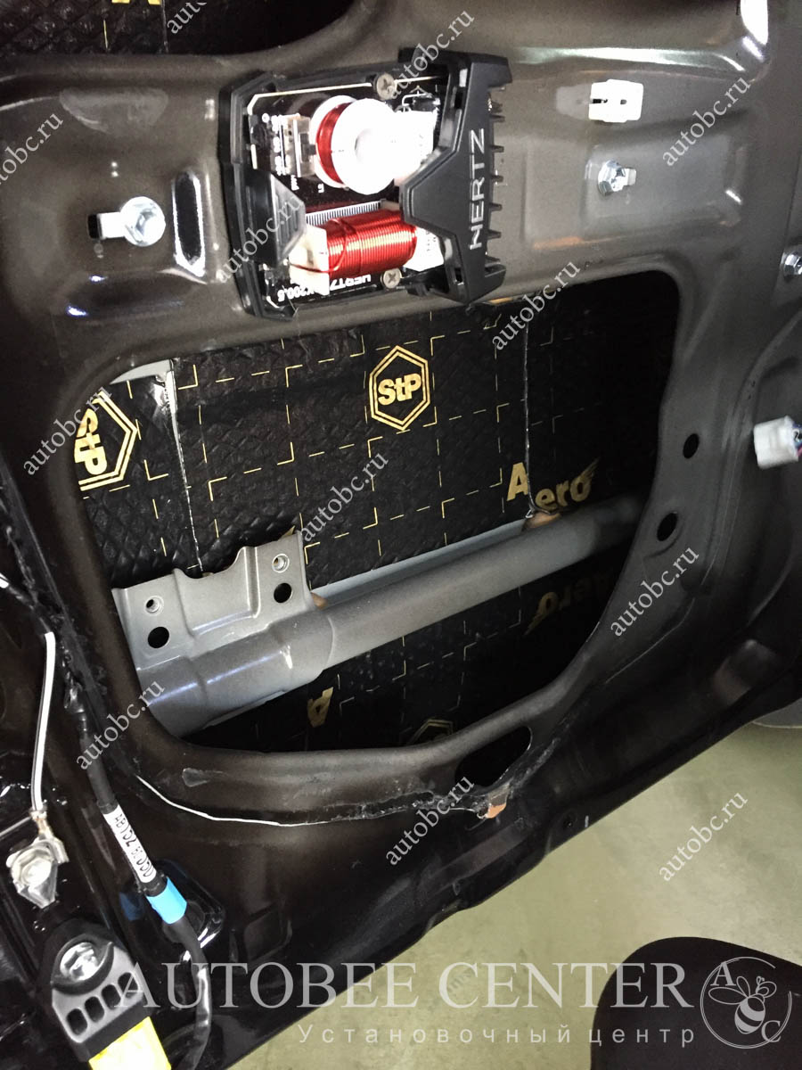 Toyota LC Prado 150 (шумоизоляция дверей)
