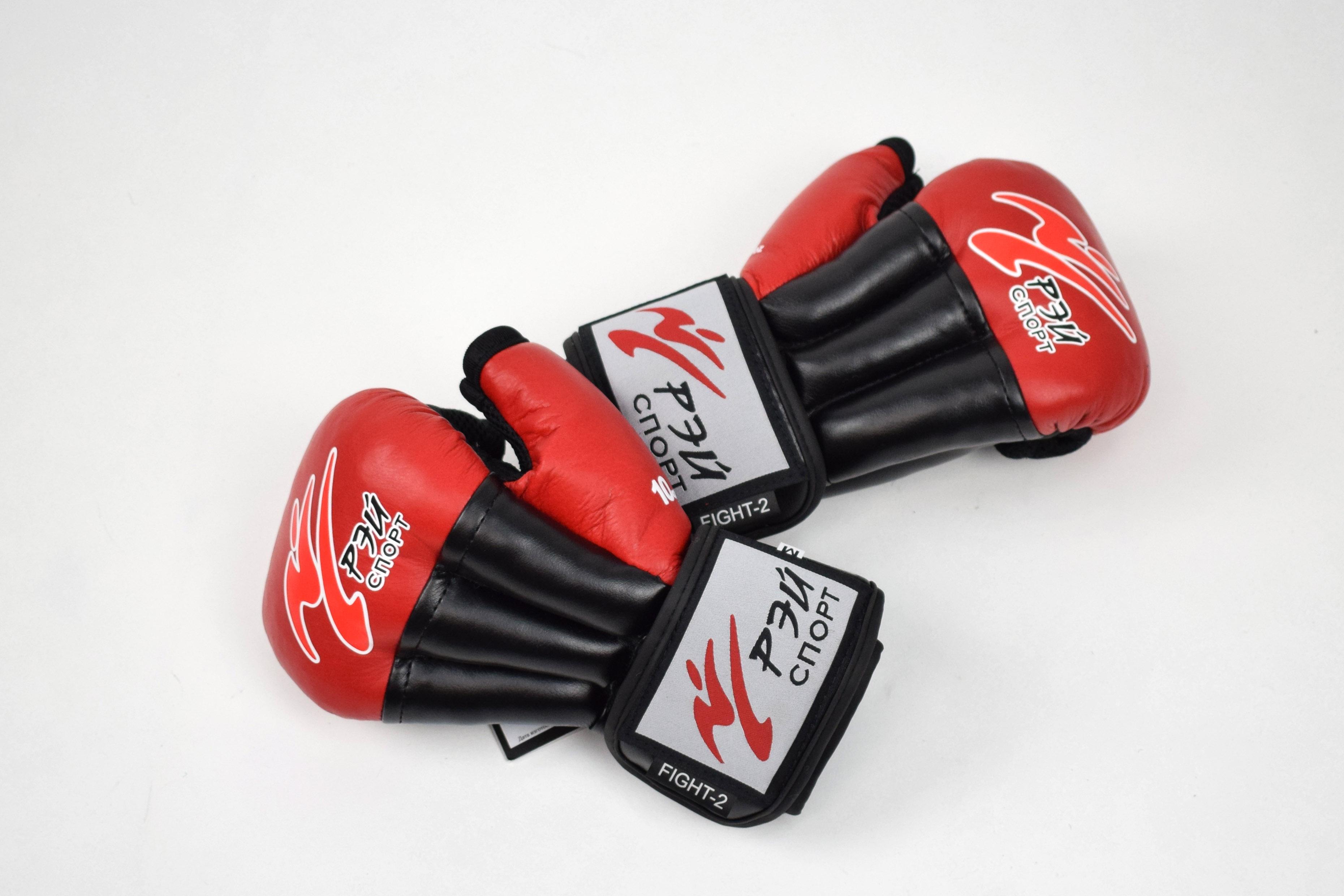 Перчатки Рэй спорт из кожи