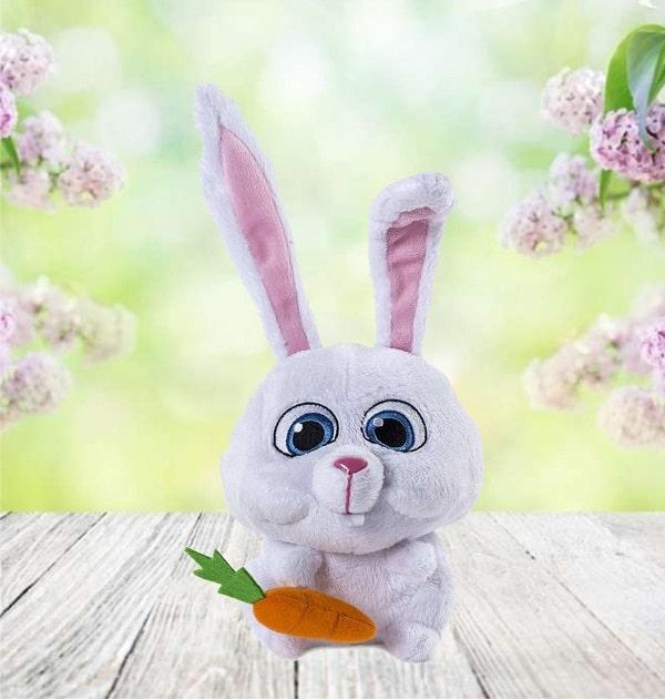 Игрушка кролик Снежок - Тайная жизнь домашних животных