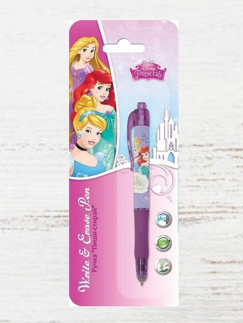 Детская ручка Принцесса (пишет и стирает)