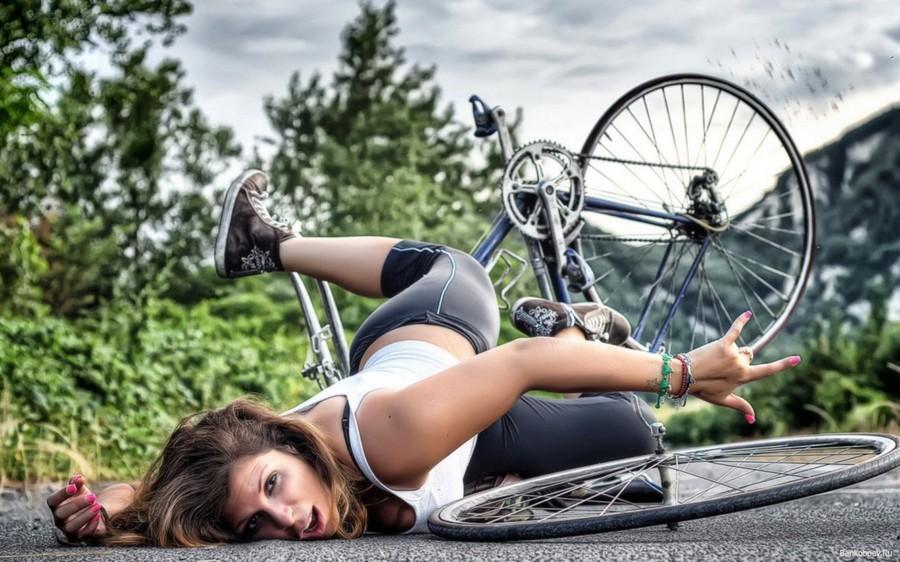 В велошлеме было бы комфортнее